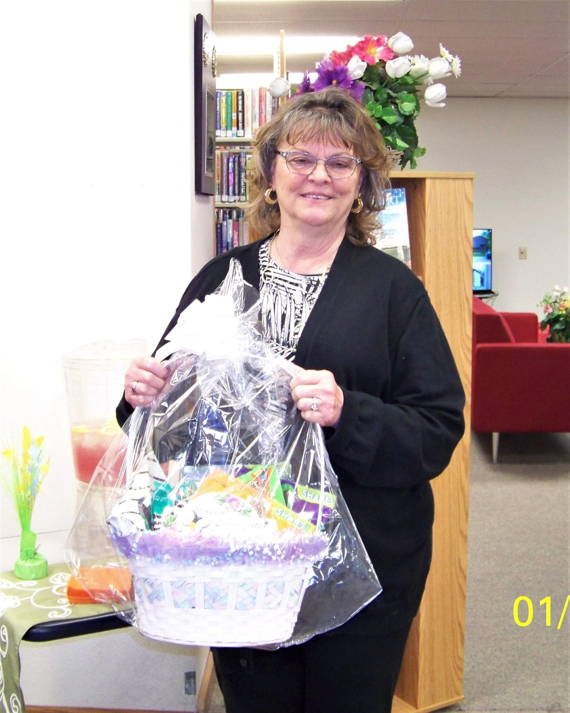 Sue Albright is the Winner!